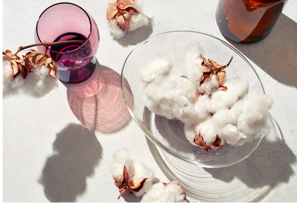 Our sustainability - bowl of cotton